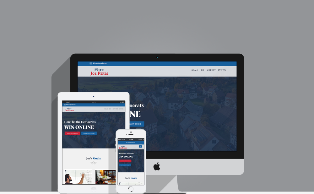 Joe Peres – Election Website