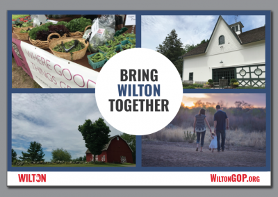 Wilton Republican Town Committee – Bring Wilton Together Post Card