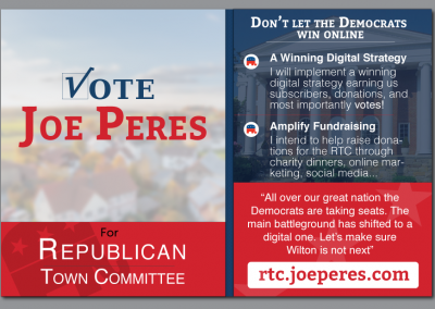 Joe Peres – Election Card